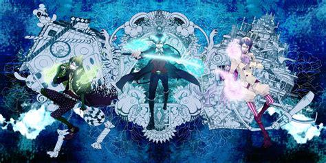 Blue Anime Wallpaper - blue exorcist wallpapers wallpaper cave