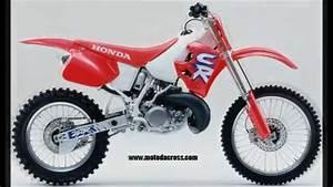 Honda 250 Cr : evolution of honda cr 250 from 1973 to 2007 youtube ~ Dallasstarsshop.com Idées de Décoration