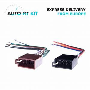 Female Universal Iso Car Radio Wire Wiring Harness Adapter