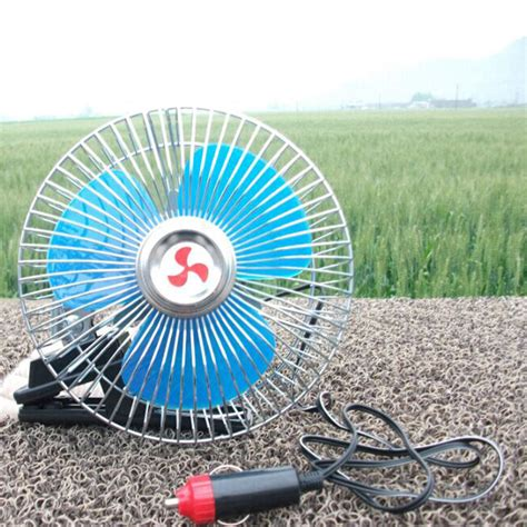 small fan for car new convenient 6 inch 24v12v car with electric fan summer