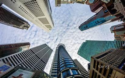 Business Bing Singapore Skyscraper Wallpapers Skyscrapers Building