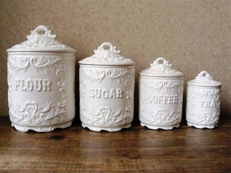 ceramic canisters for the kitchen the inexplicable mystery into ceramic kitchen canisters