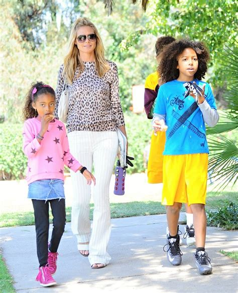 Maybe you would like to learn more about one of these? Heidi Klum Takes The Kids To The Park For Sons' Football Game   Celeb Baby Laundry