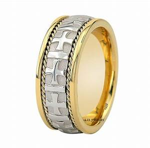 950 platinum 18k gold mens wedding band ring 8mm ebay With gold wedding band platinum engagement ring
