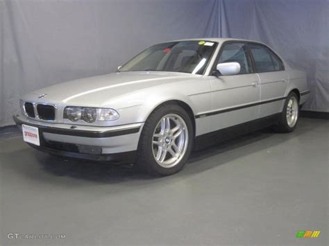 2000 Titanium Silver Metallic Bmw 7 Series 740i Sedan