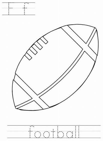 Activities Bowl Super Football Preschool Worksheets Crafts