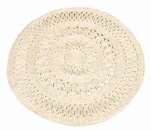 Teppich Rund 120 Cm Durchmesser : strohteppich mit muster 120 cm rund ~ Bigdaddyawards.com Haus und Dekorationen