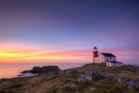 Newfoundland Lighthouse Wallpaper WallpaperSafari