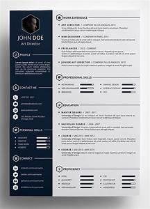 Free Creative Resume Template in PSD Format …