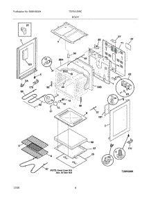 Parts For Tappan Tefewc Range Appliancepartspros