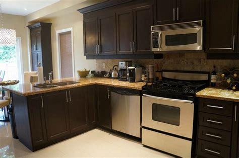 espresso color kitchen cabinets kitchen color schemes with espresso cabinets kitchen