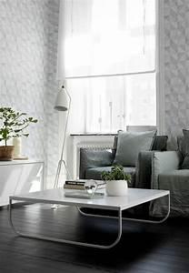 Wandgestaltung Mit Steinoptik : tapete in grau stilvolle vorschl ge f r wandgestaltung ~ Markanthonyermac.com Haus und Dekorationen