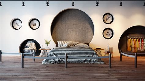 Wand Kreativ Gestalten by 44 Awesome Accent Wall Ideas For Your Bedroom