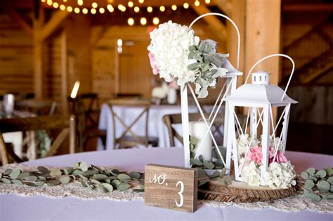 diy wedding centerpiece ideas rustic barn wedding
