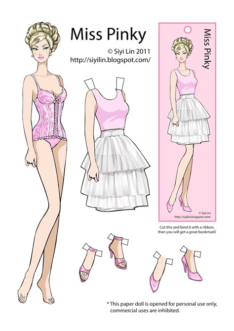 making  paper dolls   paper doll