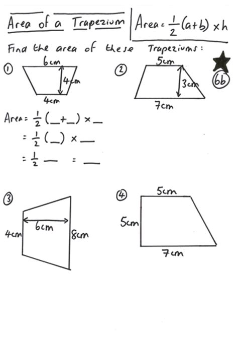 area of a trapezium lesson by ryangoldspink teaching resources tes