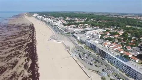 st jean de mont jean de monts vend 233 e atlantic coast in by drone 2 8