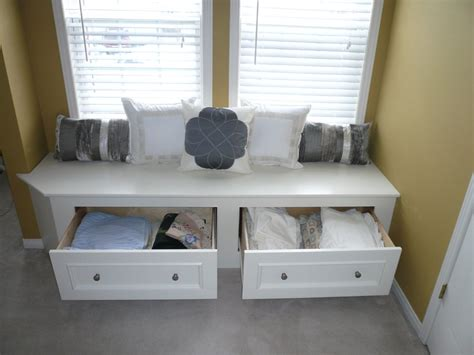 and unique combination window seat bench