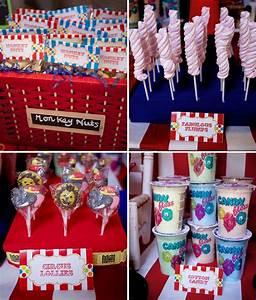 Colorful Circus Carnival Party Ideas - SIMONEmadeit com