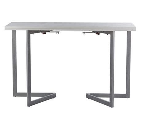 table console cuisine table console blanc tables but