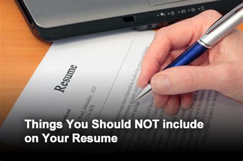 twelve points to leave your resume itbusinessedge