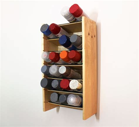 creative   everyday items spray paint storage