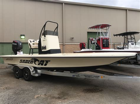 Fishing Boat For Sale Texas by 2017 New Gulf Coast Saber Cat Bay Boat For Sale Corpus
