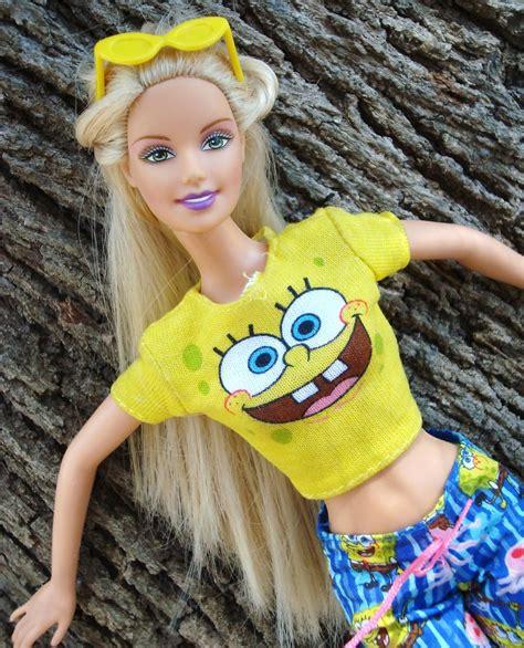 Barbie In Loves Sponge Bob Me encanta ésta chica le