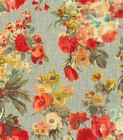 foto de Home Decor Print Fabric HGTV HOME Garden Odyssey Fog