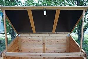 Solde Coffre De Toit : chalet jardin 05 703544 coffre de rangement pour jardin bois toit r sine 1200 l trocad ro ~ Voncanada.com Idées de Décoration