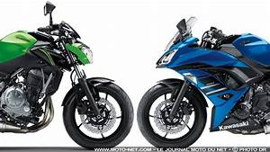 Moto Nouveauté 2018 : nouveaut s kawasaki 2018 nouveaux coloris sur les z650 et ninja 650 ~ Medecine-chirurgie-esthetiques.com Avis de Voitures