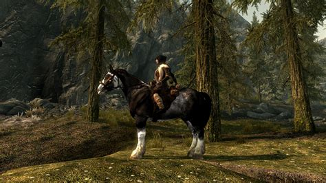 mods skyrim horse textures unique loading