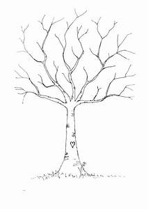 wedding diy fingerprint tree template to download print With thumbprint family tree template