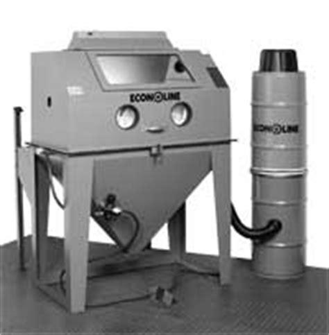 econoline blast cabinet dust collector econoline built to blast built to last