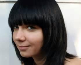 Bob Hairstyles with Bangs Black Hair