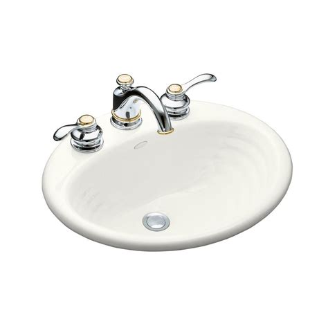 bathroom sink drain home depot kohler memoirs drop in vitreous china bathroom sink in