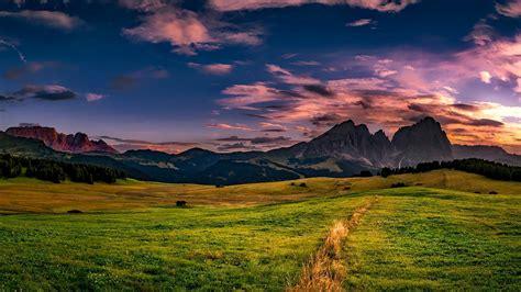 Image Libre Paysage, Coucher De Soleil, Nature, Montagne