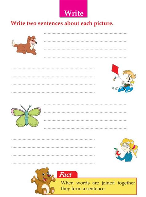 writing skill grade 1 picture composition 3 education picture composition english