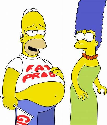 Homer Simpson Marge Fat Tummy Stomach Deviantart