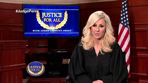 Si no hubiera hablado putin, no la respuesta de cristina pérez al presidente: Justice For All with Judge Cristina Perez - Q&A Part 4 ...