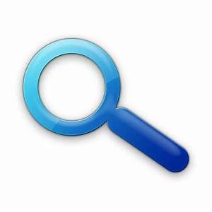 Magnifying Glass (Glasses) Icon #078587 » Icons Etc