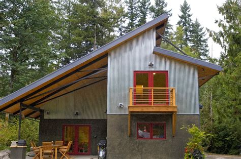 green home designs honey i shrunk the house metal concrete and wood with a