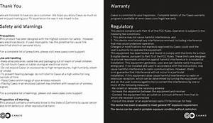 Caavo R1100 Remote Control User Manual