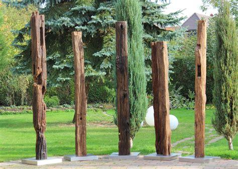 Garten Deko Eichenbalken by Edelstahl Kerzenst 228 Nder Trilogien Kerzen Pflegemittel