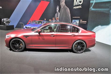 2018 Bmw M5 First Edition Left Side At The Iaa 2017 Live