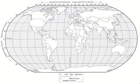 blank world maps  students world map