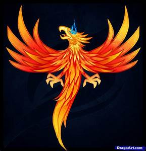 How to Draw a Phoenix Tattoo, Phoenix Tattoo, Step by Step ...