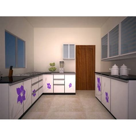 silver bell multicolor modular kitchen furniture rs