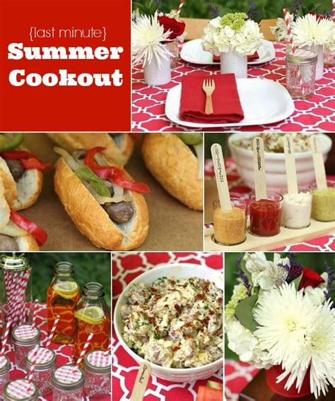 cook out ideas entertaining our last minute summer cookout recipes celebrations at home