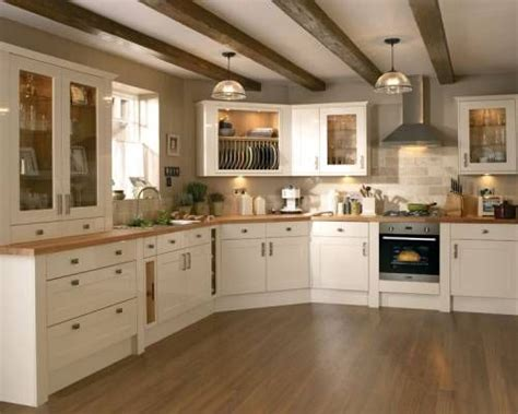 white cabinets wood counters cement floor teal walls decor ideas cabinets